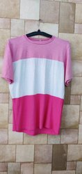 Round Ladies Half Sleeve T Shirt, Size: Medium