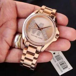 Rose Gold Formal Wear Michale Kors Watch For Women