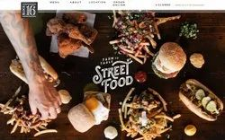PHP/JavaScript Dynamic Restaurant Website Designing Service, With 24*7 Support