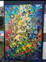 Wall Murals Flowers Tile Designs