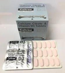Calcium Citrate Vit D3 Chewable Tablet