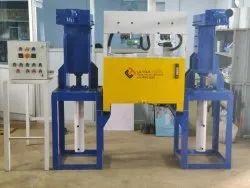 Semi Automatic Interlocking Brick Machine