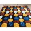 Brown Printed Single Bed AC Blanket