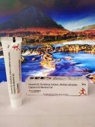Linseed Oil Diclofenac Sodium Methyl Salicylate Capsaicin And Menthol Gel