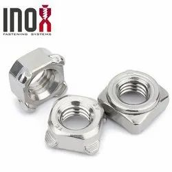 Square Weld Nuts Stainless Steel