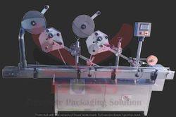 Double Side Horizontal Labeling Machine