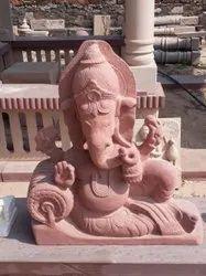 Sandstone Ganesh Statue