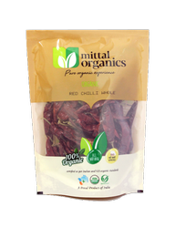 Mittal Organics Red Chilli Whole, Rajasthan, Packaging Size: 100 gram