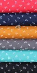 Cotton Polyester Print, Multicolour