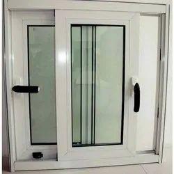 Modern White Aluminium Domal Window, For Office, Size/Dimension: 8MM