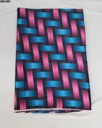 Doble Color Japan Sartin Silk Digital Print Fabric