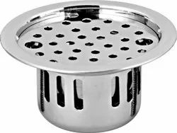 Stainless Steel Anti - Cockroach Trap 5 Round with Chrome Finish