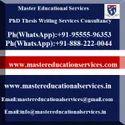 PhD Thesis Writing Services On Humanities