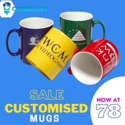 Printed Promotional Mug, Size: 330ML