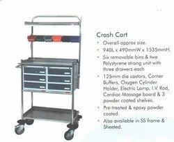 Emergency Trolley And Crash Cart
