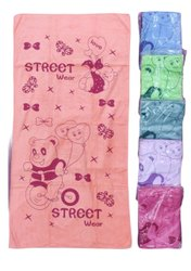 Imported Printed Microfiber Baby Towel, 5-12 Year Kids, Rectangle