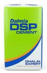 Portland Pozzolana Cement Dalmia DSP PPC, Packaging Type: BOPP Bag (Blue and White), Packaging Size: 50 Kg