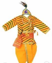 Yellow Kids Dhoti Bagalbandi