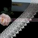 GPO Lace, For Ladies Garment, Fabric Type: Polyester