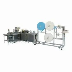 Fully Auto Surgical (3 Ply) Mask Making Machine