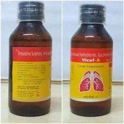 Plastic 100 ML Vicof A Cough