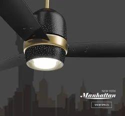 Night Sky Luminous New York Manhattan, Sweep Size: 1200mm, Fan Speed: 350 Rpm