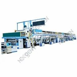 Automatic 3 Ply 5 Ply 7 Ply Corrugated Board Plant