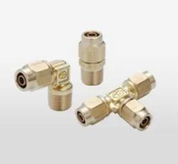 Pisco All Brass Compression Fittings