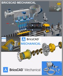 Bricscad Mechanical - Advanced Mechanical Design Software