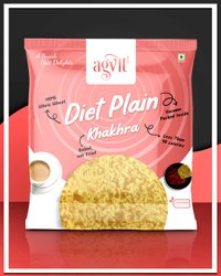 AGVIT Gujarat Diet Plain Khakhra, Packaging Type: Vacuum Pack