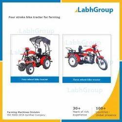 四冲程自行车拖拉机用于农业,1个气缸