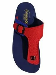 Casual Wear Blue and Red Footon-x, Size: 7x10