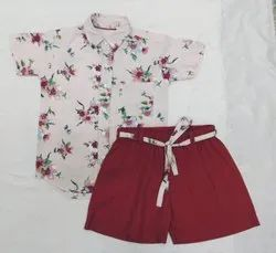 Avikalp Fashion Cotton Shirt And Shorts