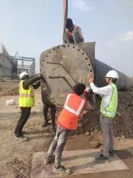 1200 MM Hdpe Pipe Jointing