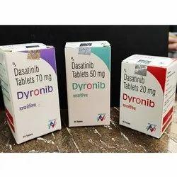 Dyronib 70/50/20mg Dasatinib Tablets