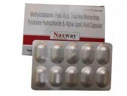 Naxway Methylcobalamin Folic Acid Pyridoxine Capsule, 10 X 10 Capsules