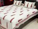 Cotton Sanganeri Printed Bed Sheets