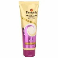 Elements Radiant Glow Face Wash, Gel, Packaging Size: 100 G