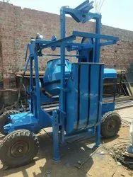 Lifter Concrete Mixer Machine