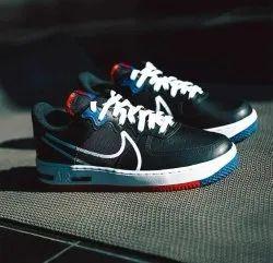Men Nike Airforce 1 React Black