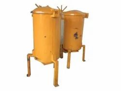 Semi-Automatic Turmeric Steam Cooker, Single Phase, Upto 2 Ton