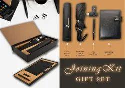 不锈钢瓶日记笔Usb伞新员工加入套装礼品,礼品