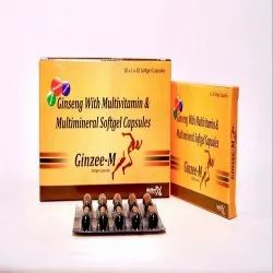 Ginseng With Multivitamin and Multimineral Softgel Capsules