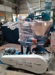 ROTARY CHEKKU(IRON) OIL EXTRACTION MACHINE 15 KG WITH 7.5HP MOTOR (3 PHASE)