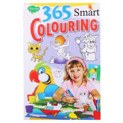 365 Smart Colouring Book