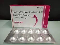 Sodium Valproate and Valproic Acid Controlled Release Tablets 200 mg