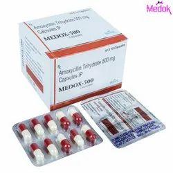 Amoxycillin Trihydrate 500 mg Capsules IP