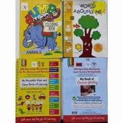 Preschool Coloring Book, LKG,UKG