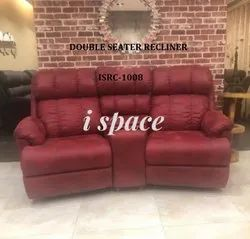 Double Seater Recliner Sofa