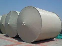 Spiral Polypropylene Cylindrical PP Storage Tank